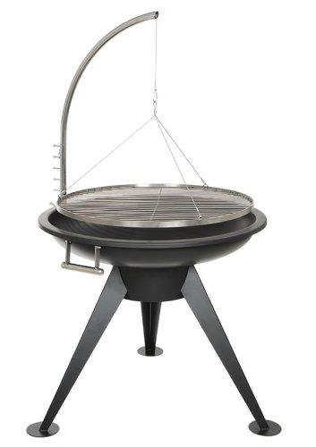 deluxe xxl bbq 80 cm schwenk grill. Black Bedroom Furniture Sets. Home Design Ideas