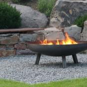 Feuerschale aus Stahl 1000 mm